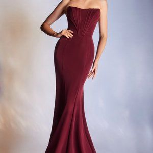Classic Evening Prom Party Sheath Long Dress 223